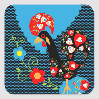 The Portuguese Rooster Sticker