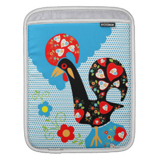 The Portuguese Rooster Symbol Sleeves For iPads