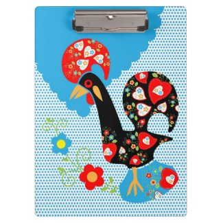 The Portuguese Rooster symbol of Portugal Clipboards
