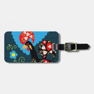 The Portuguese Rooster Tag For Luggage