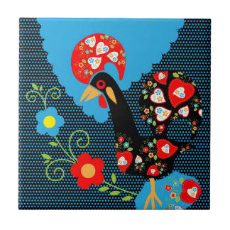 The Portuguese Rooster Tile