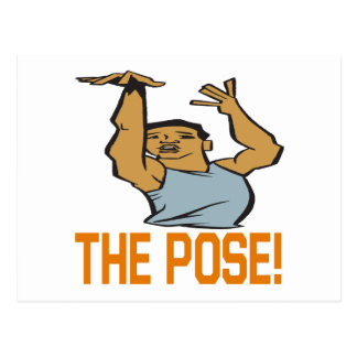 The Pose Postcard