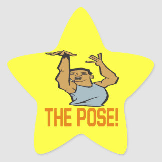 The Pose Star Sticker