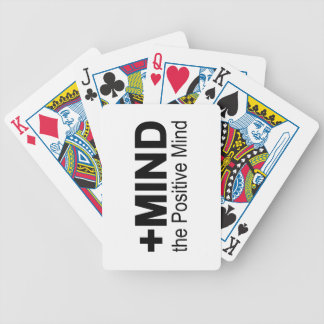 The Positive Mind Bicycle Playing Cards