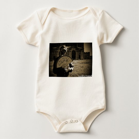 The Post-Apocalyptic Princess by April A Taylor Baby Bodysuit
