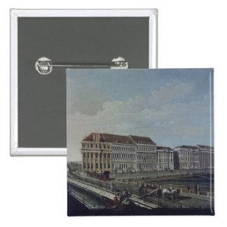 The Post Office in Potsdam, 1784 2 Inch Square Button