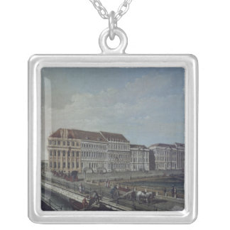The Post Office in Potsdam, 1784 Silver Plated Necklace