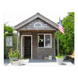 The Post Office on Fire Island, Long Is. NY Postcard