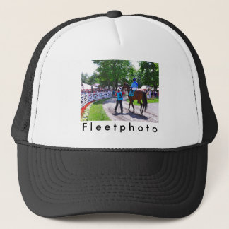 The Post Parade at Saratoga Trucker Hat