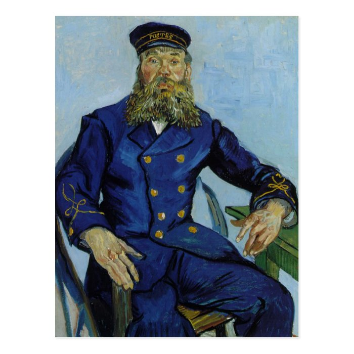 The Postman Joseph Roulin by Vincent van Gogh Postcard