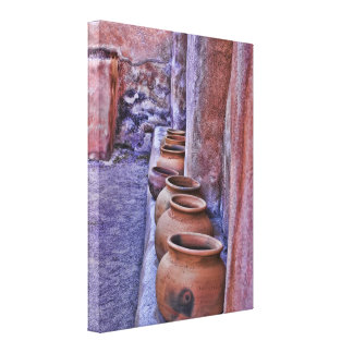 The Pot Wall Wrapped Canvas Canvas Print