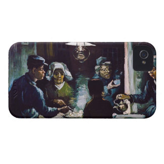 The Potato Eaters by Vincent Van Gogh iPhone 4 Case-Mate Cases