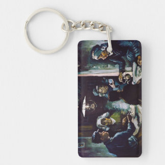 The Potato Eaters by Vincent Van Gogh Keychain