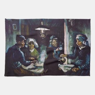 The Potato Eaters by Vincent Van Gogh Towel