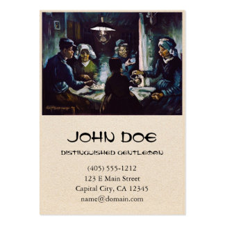 The Potato Eaters by Vincent Van Gogh Large Business Card