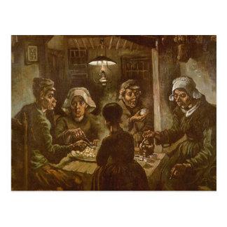 The Potato Eaters by Vincent van Gogh Postcard