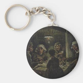 The Potato Eaters Keychain