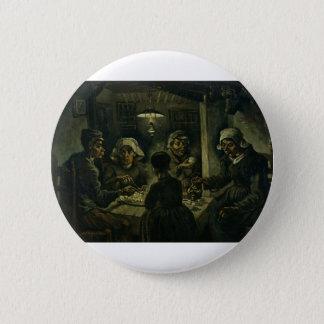 The Potato Eaters Pinback Button