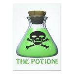 "The Potion 5"" X 7"" Invitation Card"