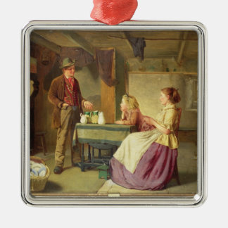 The Potter, 1876 (oil on canvas) Metal Ornament