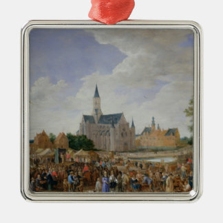 The Potters' Fair at Ghent Metal Ornament
