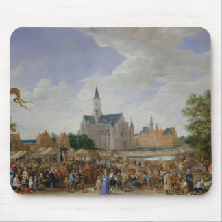 The Potters' Fair at Ghent Mouse Pad