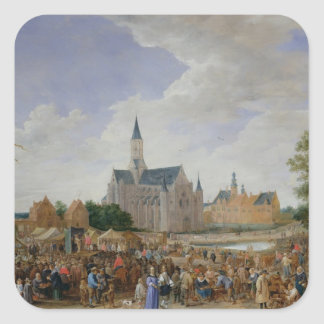 The Potters' Fair at Ghent Square Sticker
