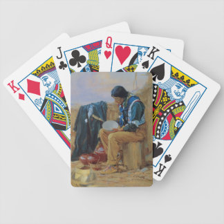 The Pottery Maker Bicycle Playing Cards