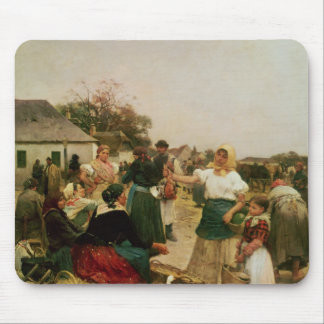 The Poultry Market, 1885 Mouse Pad