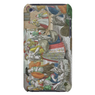The Poultry Market (coloured engraving) Barely There iPod Cover