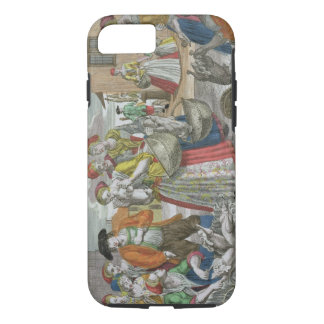 The Poultry Market (coloured engraving) iPhone 8/7 Case