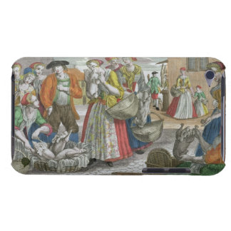 The Poultry Market (coloured engraving) iPod Touch Case-Mate Case