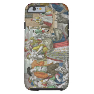 The Poultry Market (coloured engraving) Tough iPhone 6 Case