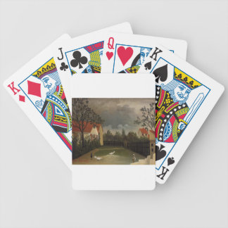 The Poultry Yard by Henri Rousseau Bicycle Playing Cards