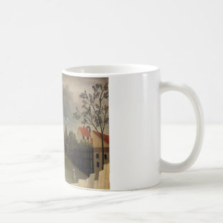 The Poultry Yard by Henri Rousseau Coffee Mug