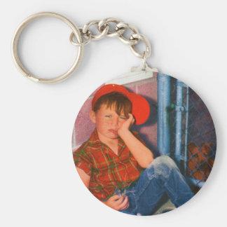 The Pound Basic Round Button Keychain
