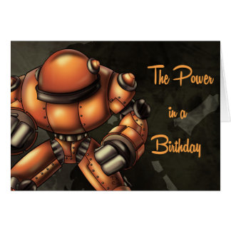 """""""The Power in a Birthday"""" Card"""
