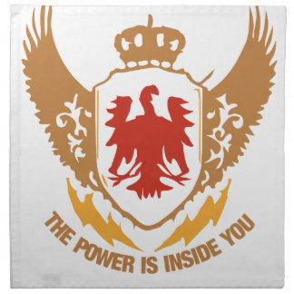 The Power Is Inside You - Motivational / Success Cloth Napkin