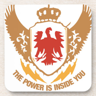 The Power Is Inside You - Motivational / Success Drink Coaster
