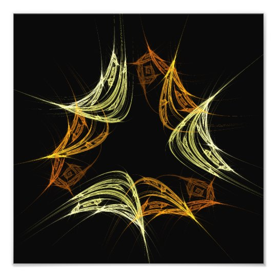The Power of 3 Abstract Art Photo Print