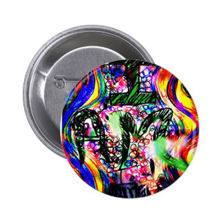 The power of I AM Pinback Button