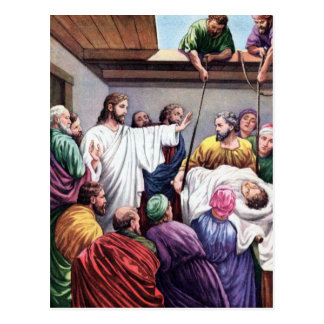 The Power Of Jesus To Forgive Sin Postcards