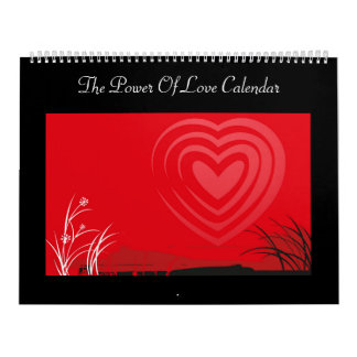 The Power Of Love Calendar