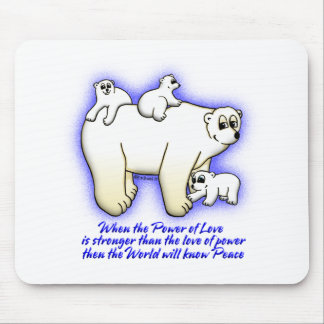 The Power of Love Mousepad