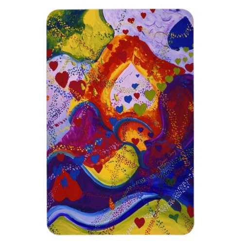 The Power of Love, Underground, Hearts, Abstract Magnet
