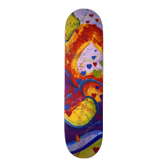 The Power of Love, Underground, Hearts, Abstract Skateboard Deck