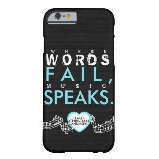 The power of music. barely there iPhone 6 case
