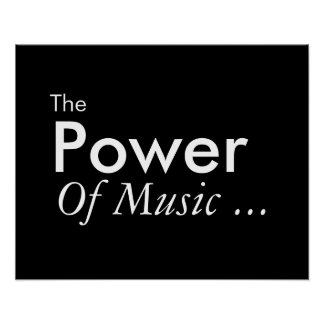 The Power Of Music Poster