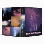 The Power of Nature 3 Ring Binders