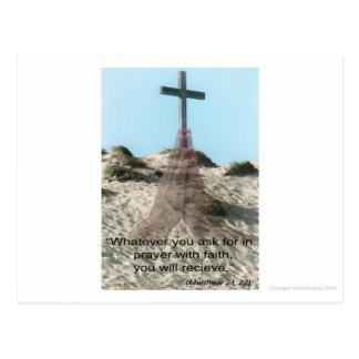 The Power of Prayer Postcard